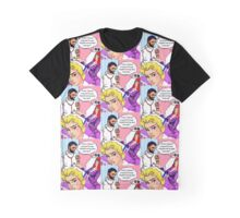 Tall, dark, handsome Doctors in pop art hospitals Graphic T-Shirt