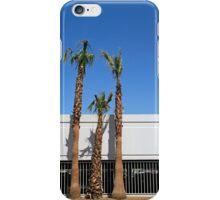 Three palm trees in Vegas iPhone Case/Skin