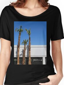Three palm trees in Vegas Women's Relaxed Fit T-Shirt