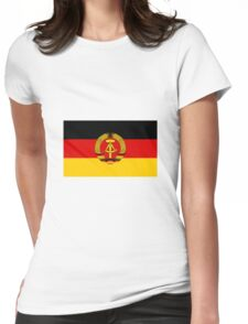 GDR Flag Womens Fitted T-Shirt