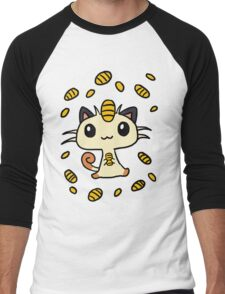 Meowth Maneki Men's Baseball ¾ T-Shirt