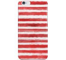 Red Stripes iPhone Case/Skin