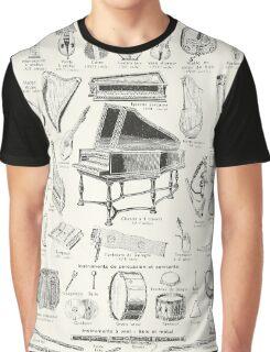 Vintage music Graphic T-Shirt