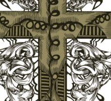 Cross design Sticker