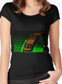 Lens art 001 Women's Fitted Scoop T-Shirt