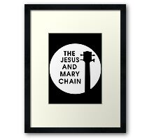 Jesus and Mary Chain Framed Print