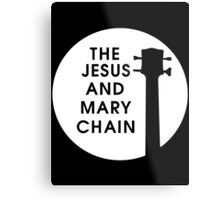 Jesus and Mary Chain Metal Print