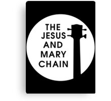 Jesus and Mary Chain Canvas Print