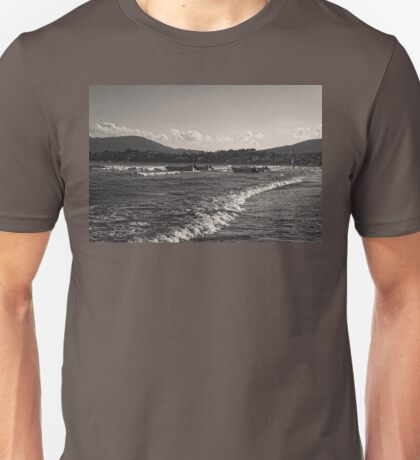 Zakynthos Greek sandy beach Island  Unisex T-Shirt