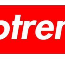 Notreme - Supreme Box Logo Sticker