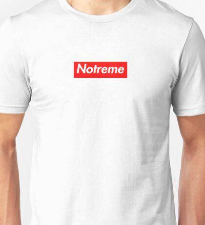 Notreme - Supreme Box Logo Unisex T-Shirt
