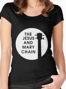 Jesus and Mary Chain Women's Fitted Scoop T-Shirt