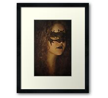 When dreams do show me thee Framed Print