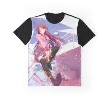 Bakemonogatari - Senjougahara Graphic T-Shirt