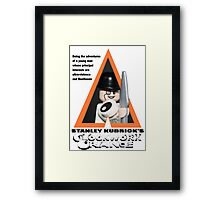 Lego Clockwork Orange Framed Print