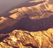 Montenegro top view landscape Sticker