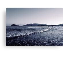 Zakynthos Greek sea shore landscape  Canvas Print