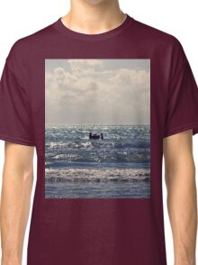 Couple swimming in the Moonlight Classic T-Shirt