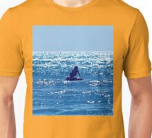 Couple swimming in the Moonlight Unisex T-Shirt
