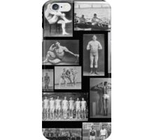 Vintage Athletes  iPhone Case/Skin