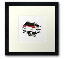 Wagon mafia Framed Print