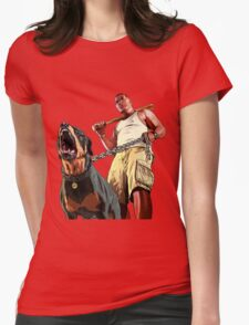 Gta 5 Franklin Womens Fitted T-Shirt