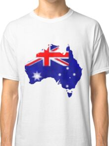 Australian Flag Classic T-Shirt