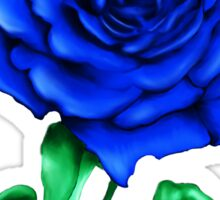 Blue Rose Sticker