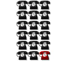 The Telephone Always Rings Twice Photographic Print