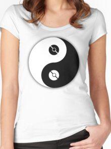 Pokemon Yin Yang Women's Fitted Scoop T-Shirt