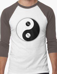 Pokemon Yin Yang Men's Baseball ¾ T-Shirt