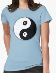 Pokemon Yin Yang Womens Fitted T-Shirt