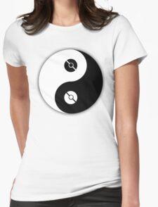 Pokemon Yin Yang Womens Fitted T-Shirt