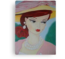 Silkstone Barbie Canvas Print