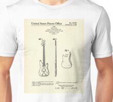 Bass Guitar-1960 Unisex T-Shirt