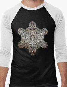 Metatron's Cube rocky Men's Baseball ¾ T-Shirt