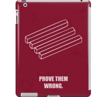 Prove Them Wrong Corporate Start-up Quotes iPad Case/Skin