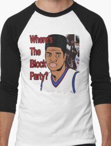 Nerlens Noel - Block Party Men's Baseball ¾ T-Shirt