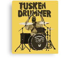 Tusken Drummer Canvas Print