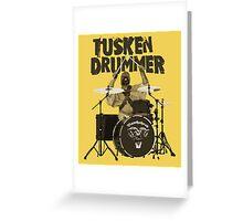 Tusken Drummer Greeting Card