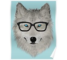 Wild Animal with Glasses - V02 Poster