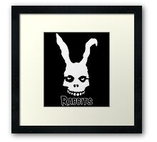 Rabbits. Framed Print