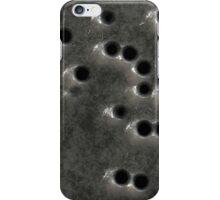 Bullet Hole Metal Texture iPhone Case/Skin