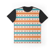 Rhombus and stripes pattern Graphic T-Shirt