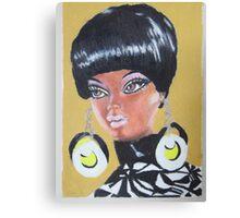 Black Barbie Canvas Print