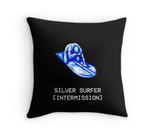Silver Surfer Intermission Design Throw Pillow