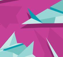 Planes & Cranes Sticker