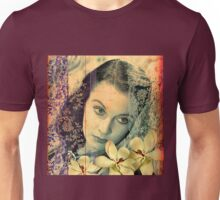 Scarlett Leigh with Magnolias from Tara Unisex T-Shirt