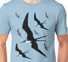 Frigate Birds Flying Unisex T-Shirt