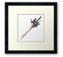 Noctis sword Framed Print